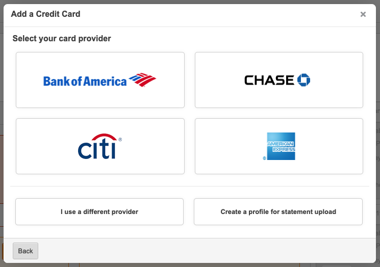 New Credit Card Connection Flow - Tallie Roadmap Portal | Product