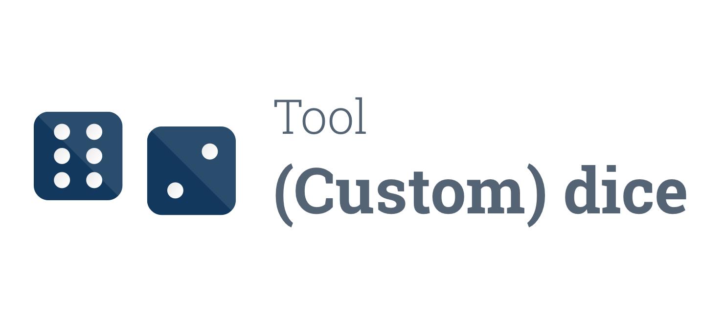 Tool: Random number/letter generator - Ideas & Developments